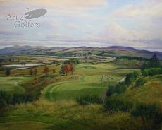 Gleneagles – PGA Centenary Course 8th hole - Signed Limited Edition – VENUE OF 2014 RYDER CUP
