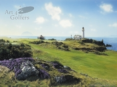 Turnberry - Ailsa Craig & Lighthouse