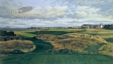 Royal Troon - 17th Hole & Clubhouse
