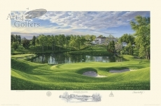 Congressional Country Club '10th hole' Blue Course 2011 U.S. Open Official Limited Edition Print