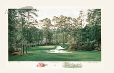Augusta National Golf Club - 10th Hole - 'Camellia' - Limited Edition