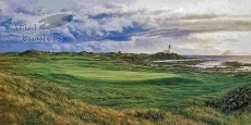 Turnberry - 10th Hole - 'Dinna Fouter' - CANVAS LIMITED EDITION