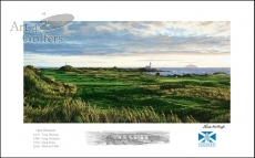 Turnberry 12th hole 'Monument'� - Signed Open Edition