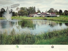 The K Club - Palmer Course - 18th Hole - SIGNED BY DARREN CLARKE 2011 OPEN CHAMPION