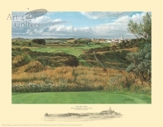Royal Birkdale 18th hole & Clubhouse