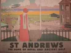 St Andrews - Railway Poster