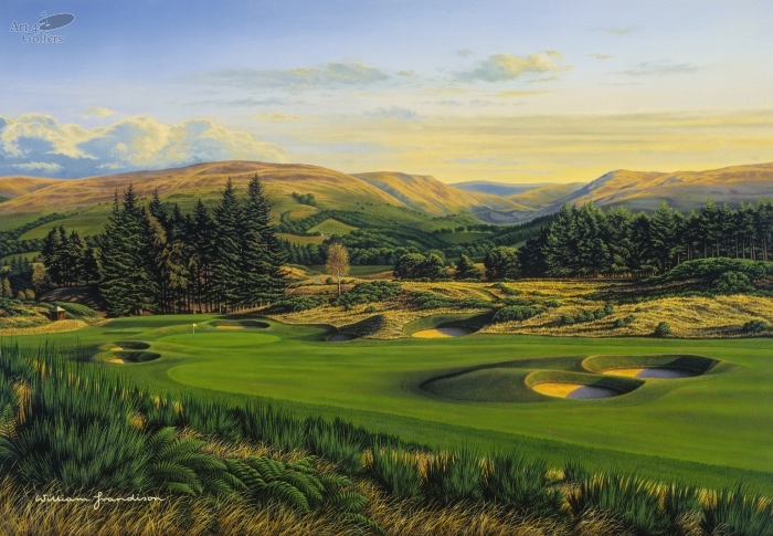 Gleneagles - Kings Course 15th Hole 'Howe O Hope'