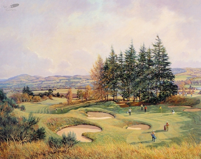 Gleneagles - Kings Course 14th Hole