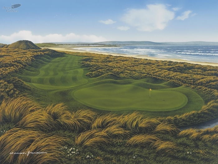 Enniscrone - 15th Hole 'The Strand'