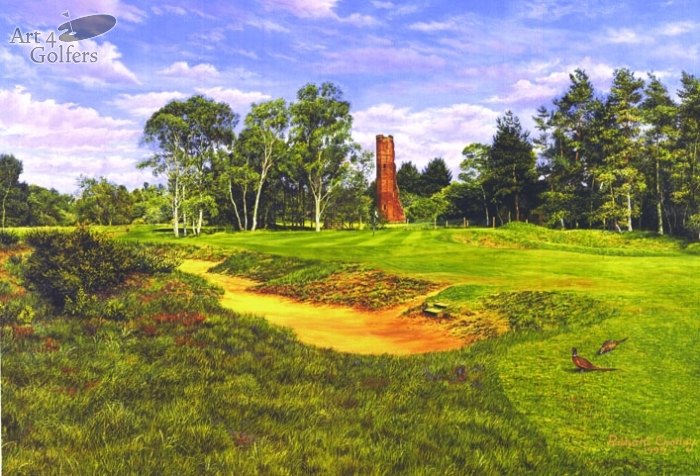 Woodhall Spa - Hotchkin Course 3rd Hole
