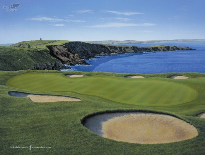 Old Head of Kinsale - 7th Hole 'Legal Eagle'