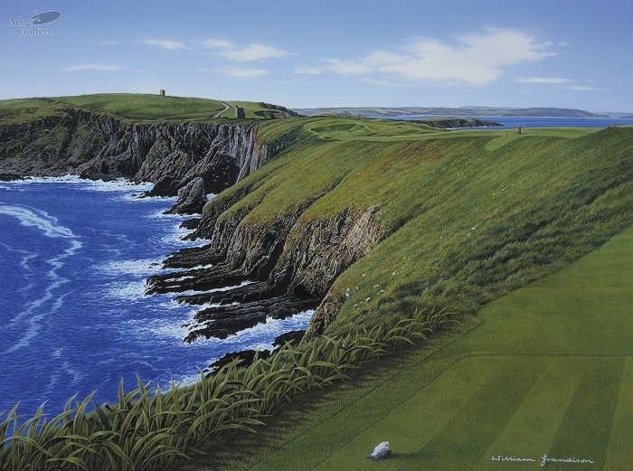 Old Head of Kinsale - 12th Hole 'Courcean Stage'