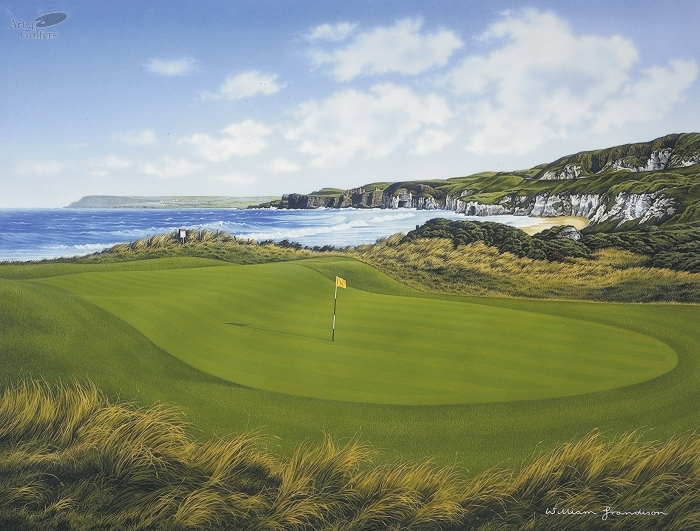 Royal Portrush - 5th Hole 'White Rocks'