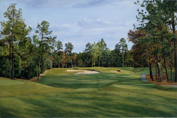 Pinehurst No.2 - 9th Hole