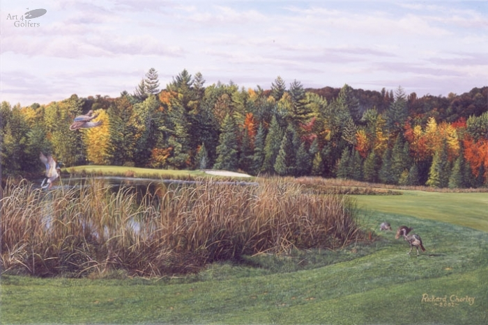 Boyne Highlands - Heather Course 5th Hole