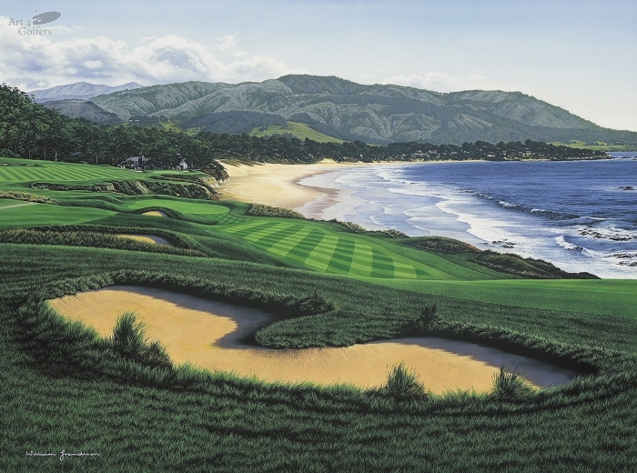 Pebble Beach - 9th Hole