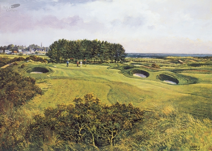 Carnoustie - 15th Hole
