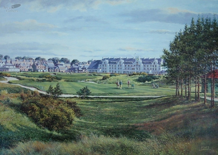 Carnoustie - 16th Hole