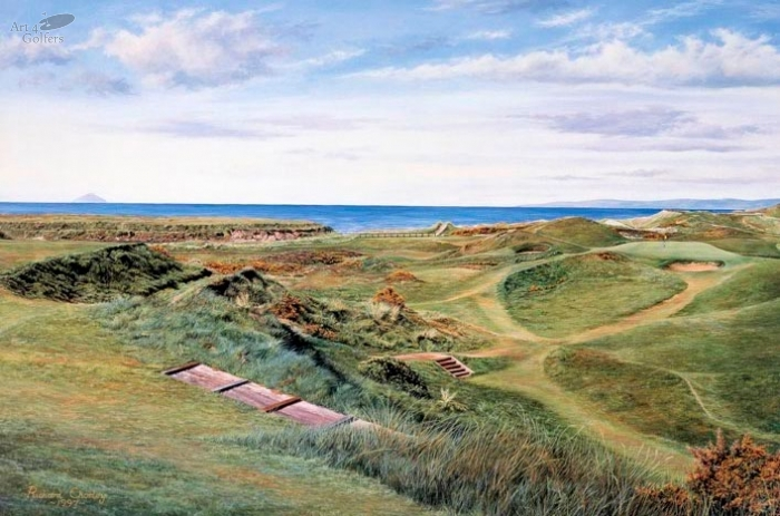 Royal Troon - The Postage Stamp