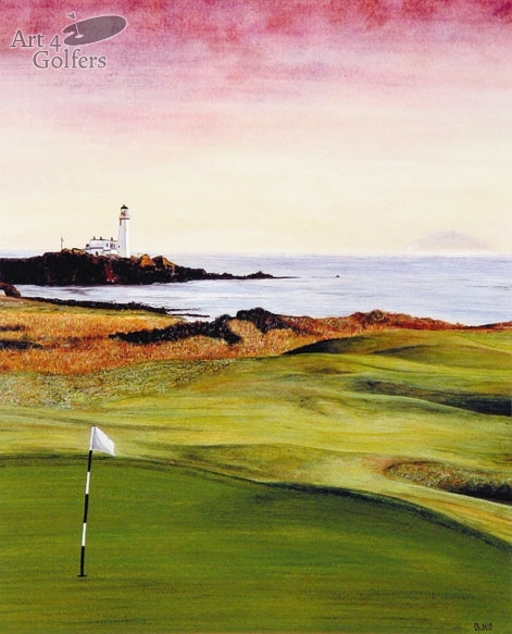 Turnberry - Ailsa Craig