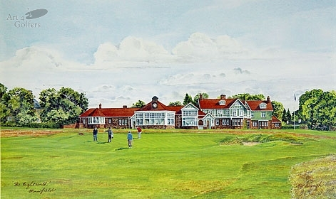 Muirfield - 18th hole & Clubhouse