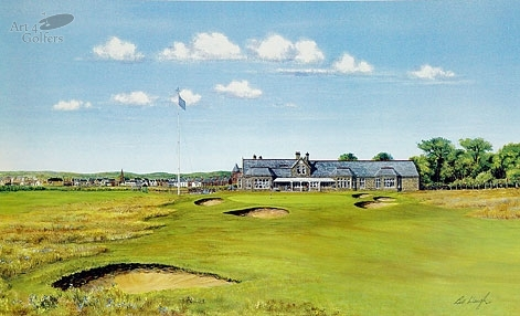 Royal Troon - 18th hole & Clubhouse