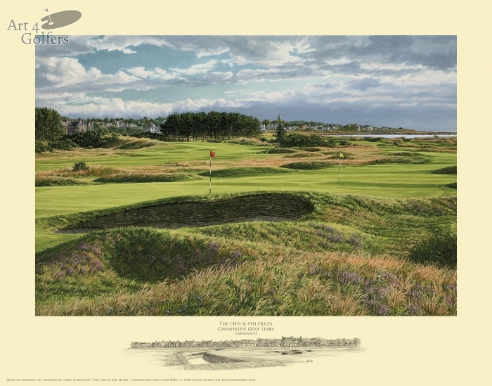 Carnoustie 4th & 14th holes