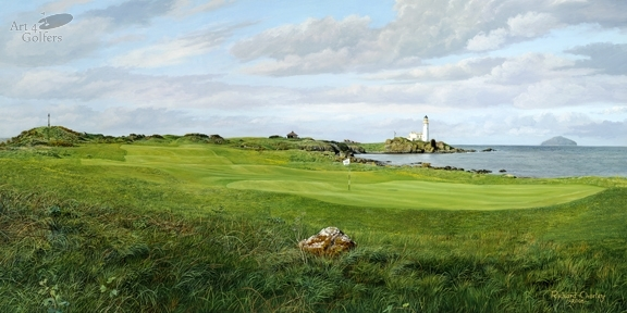Turnberry - Ailsa Course - 10th Green - 2009 Open Championship Venue