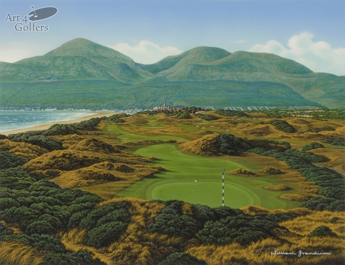 Royal County Down 3rd Hole