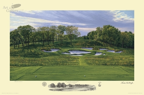 Bethpage Black - 17th Hole - 2009 U.S. Open Championship Official Print