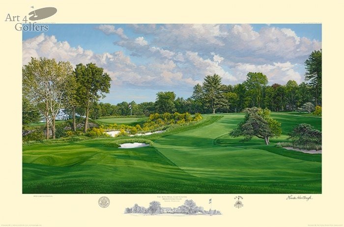 MERION - 2013 U.S. OPEN OFFICIAL LIMITED EDITION PRINT