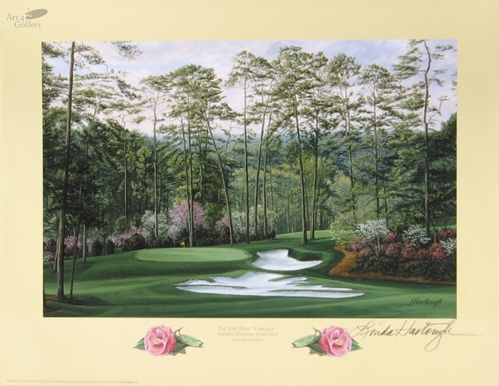 Augusta National Golf Club 10th hole 'Camellia'�