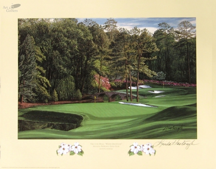 Augusta National Golf Club 11th hole 'White Dogwood'�
