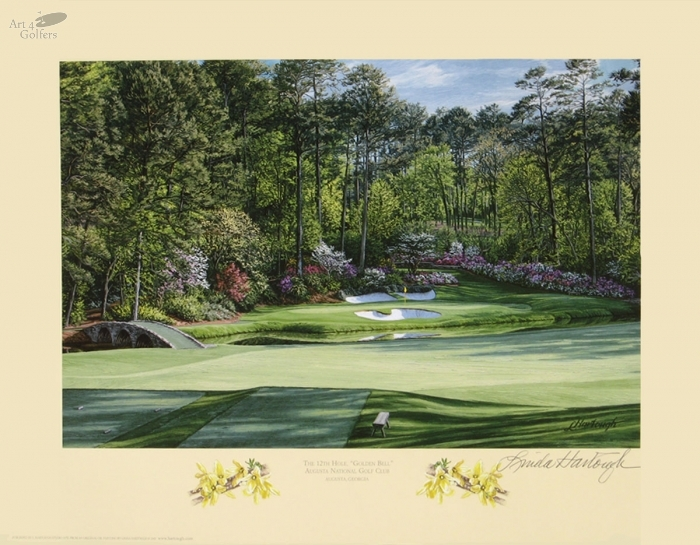 Augusta National Golf Club 12th hole 'Golden Bell'�