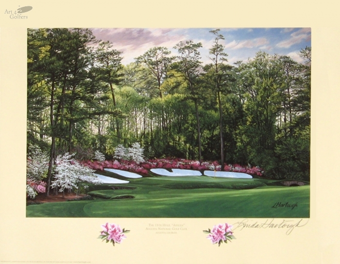 Augusta National Golf Club 13th hole 'Azalea'�