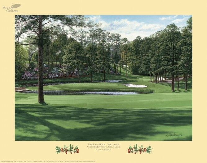 Augusta National Golf Club 15th hole 'Firethorn'�