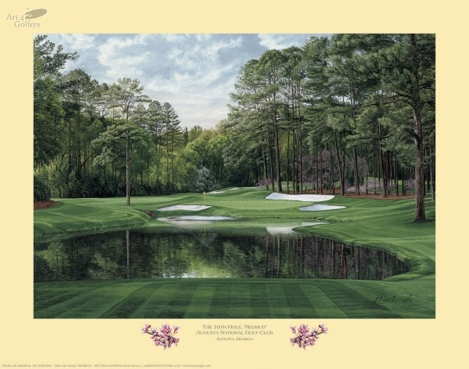 Augusta National Golf Club 16th hole 'Redbud'�
