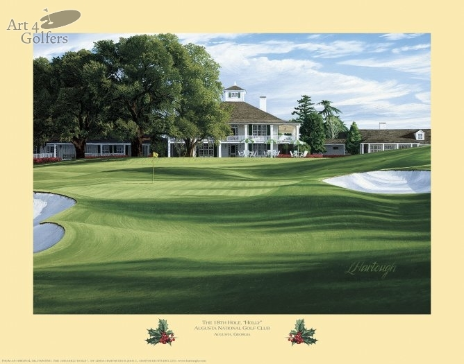 Augusta National Golf Club 18th hole 'Holly'�