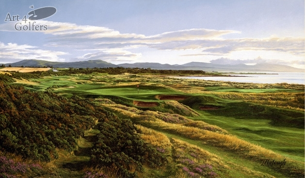 Royal Dornoch 17th Hole Premier Canvas Edition
