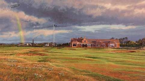 Royal Troon - 18th Hole - 'Craigend' - CANVAS LIMITED EDITION