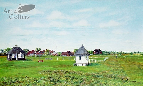 Royal St. Georges - 1st Tee & Clubhouse