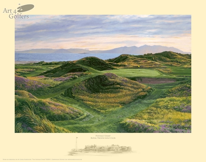 "Royal Troon ""Postage Stamp�"