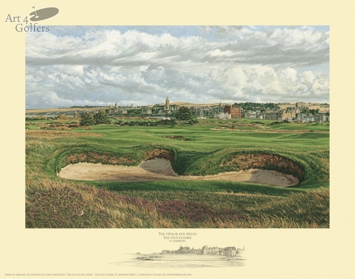 St Andrews 4th and 14th holes